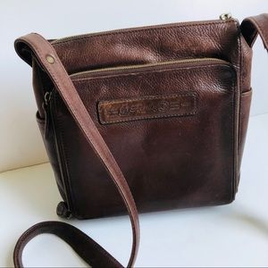 Fossil Bags - Crossbody Bag Fossil Vintage Brown Leather Key